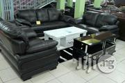 Coffee Brown Leather Sofa | Furniture for sale in Abuja (FCT) State, Wuse