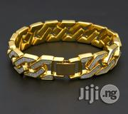 Iced Out Men Bracelet Hand Chain Jewelry   Jewelry for sale in Lagos State, Ikeja