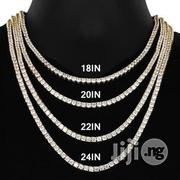 Men Tennis Chain Necklace Jewelry   Jewelry for sale in Lagos State, Surulere
