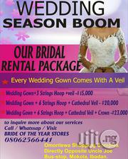 Wedding Gown Rental Package | Wedding Venues & Services for sale in Oyo State, Ibadan North