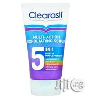 Clearasil 5 in 1 Multi-Action Exfoliating Scrub, 150ml | Bath & Body for sale in Abuja (FCT) State, Gwarinpa
