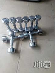 Original Stainless Dumbbell (Port Harcourt) | Sports Equipment for sale in Rivers State, Port-Harcourt