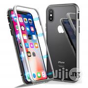 iPhone X Case Luxury Magnetic Adsorption Cover- Silver | Accessories for Mobile Phones & Tablets for sale in Lagos State, Ikeja