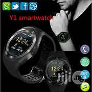 """Generic Y1 Smart Watch 1.54"""" Touch Screen Fitness Activity Tracker 