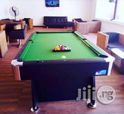 Luxurious American Fitness 8ft Snooker Pool With Full Accessories | Sports Equipment for sale in Lagos State, Surulere