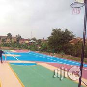 Construction Of Basketball Court At Ejico Sports (Port Harcourt) | Building & Trades Services for sale in Rivers State, Port-Harcourt
