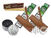 Buy 2 Strawberry Blunt Wraps, One Unbleached Blunt Wrap And Grinder | Kitchen Appliances for sale in Abuja (FCT) State, Maitama