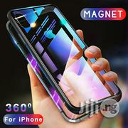 Magnetic Adsorption Case for iPhone X 8 Plus 7 6 6S + Metal | Accessories for Mobile Phones & Tablets for sale in Lagos State, Ikeja