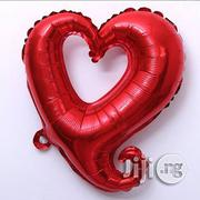 "34"" Red Heart Shaped Aluminum Foil Balloon 