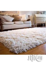 Shaggy Rug- Off White 4ft by 6ft | Home Accessories for sale in Lagos State, Lagos Mainland