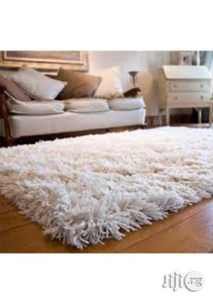 Shaggy Rug- Off White 4ft by 6ft