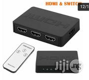 3x1 HDMI Splitter Switcher 3 Port Hub Box Auto Switch 3 In 1 Out | Accessories & Supplies for Electronics for sale in Lagos State, Ikeja