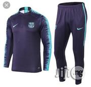 Original Barcelona Official Track Suit Available | Clothing for sale in Lagos State, Lagos Mainland