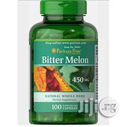 Puritans Pride Bitter Melon 450mg-100 Capsules | Vitamins & Supplements for sale in Lagos State, Orile