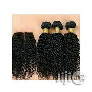 """Russian Deep Curly Human Hair """"18inches Colour 2"""" 