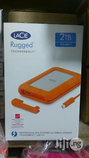 Lacie Rugged Thunderbolt Usb 3.0 Hard Drive 2tb | Computer Hardware for sale in Lagos State, Ikeja