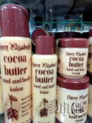 Queen Elizabeth Cocoa Butter Hand and Body Lotions Creams Diff Sizes | Skin Care for sale in Lagos State, Lagos Mainland
