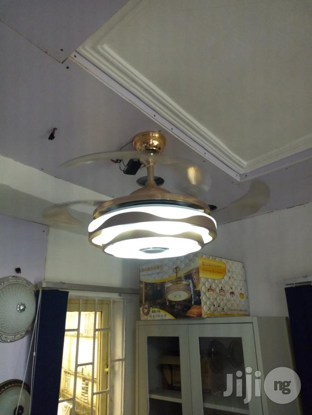 Ceiling Fan With Light And Bluetooth