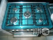 Brand New AKAI Gas Cooker 5burners Blue Flames Automatic Ignition | Kitchen Appliances for sale in Lagos State, Ojo