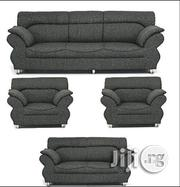 EXCLUSIVE FURNITURE GREY' 7 Seaters Sofa + 1 Free O | Furniture for sale in Lagos State, Magodo