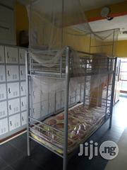Double Bunk Bed With Iron One | Furniture for sale in Lagos State, Lekki Phase 1