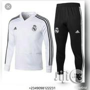 Original Real Madrid Track Suit 2018/2019   Clothing for sale in Lagos State, Lagos Mainland
