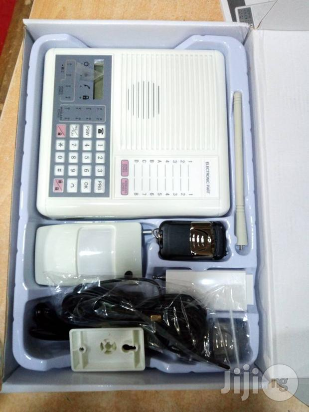 Wireless Burglary Alarm With Remote