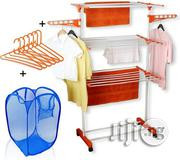 Everlast Cloth Hanger With Laundry Basket   Home Accessories for sale in Lagos State, Ikoyi