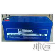 Luminous Inverter Battery 200AH 12V Smf - Blue | Electrical Equipment for sale in Lagos State, Victoria Island