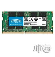 Crucial 8GB Single DDR4 2400 MT/S (PC4-19200) SR X8 SODIMM 260-Pin Memory - CT8G4SFS824A   Computer Hardware for sale in Rivers State, Port-Harcourt