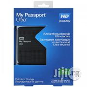 WD My Passport Ultra Portable 1TB External Hard Drive(Black) | Computer Hardware for sale in Lagos State, Ikeja