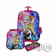 Frozen Kids Trolley Bag Lunch Box Pencil Case 6-12years | Babies & Kids Accessories for sale in Lagos State, Amuwo-Odofin