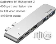 Baseus Thunderbolt 3.0 Usb Type C Hub With 4k Hdmi, 50 Gbs Transfer Speeds for Apple Macbook Pro | Computer Accessories  for sale in Lagos State, Ikeja