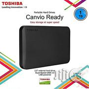 Toshiba Canvio Ready 1TB USB 3.0 External Hard Drive | Computer Hardware for sale in Abuja (FCT) State, Central Business District