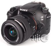 London Used Sony A58 Camera With Complete Accessories | Photo & Video Cameras for sale in Lagos State, Ikeja