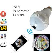 360 Degree Motion Recording Wi-Fi Bulb Panoramic Surveillance Camera   Security & Surveillance for sale in Lagos State, Ikeja