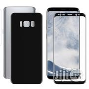 3D Screen Guard Front/Back Protector For Samsung Galaxy S8+ - Black | Accessories for Mobile Phones & Tablets for sale in Lagos State, Lagos Island