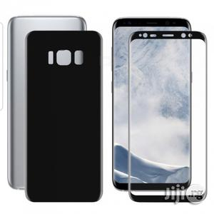 3D Screen Guard Front/Back Protector For Samsung Galaxy S8+ - Black