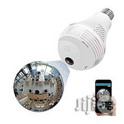 Panoramic Wifi LED Bulb Camera For Smartphone | Security & Surveillance for sale in Lagos State, Ikeja