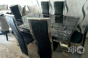 Pure Marble 6 Seater Dinning Set