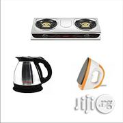 QASA Kitchen Bundle . Table Gas Burner+ Electric Jug + Iron | Home Appliances for sale in Abuja (FCT) State, Garki 1