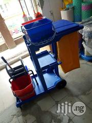 Industrial Cleaning Mopping Janitorial Trolley With Accessories | Store Equipment for sale in Lagos State, Lagos Mainland