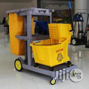 Hotel Housekeeping Push Grass Cloth Car With 32lmopping Bucket | Store Equipment for sale in Lagos State, Lagos Mainland