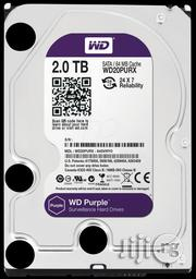 Western Digital WD Purple 2TB Surveillance Hard Disk Drive | Computer Hardware for sale in Lagos State, Ikeja