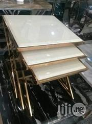 Golden Frame Side Stools | Home Accessories for sale in Lagos State, Victoria Island