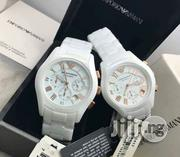 Original Emporio Armani Ceramic Wristwatch 😍 , It Doesn't Fade or Peel.   Watches for sale in Lagos State, Lagos Island