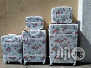 5 Set White Trolley Travelling Luggage | Bags for sale in Lagos State, Ikeja