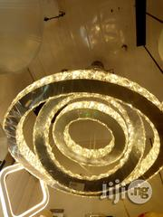 Quality Crystal Chandelier Light With 3 Colours | Home Accessories for sale in Lagos State, Ojo