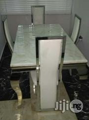 Imported Durable Four Seater Marble Dining Table | Furniture for sale in Lagos State, Ikeja