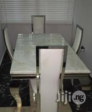 Exotic Imported Four Seater Marble Dining Table | Furniture for sale in Lagos State, Lekki Phase 1